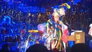 Sufjan Stevens as the Christmas Unicorn.