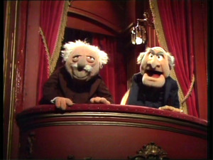 old men muppets