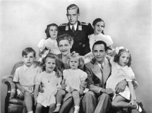 Goebbels family - all of whom died of cyanide