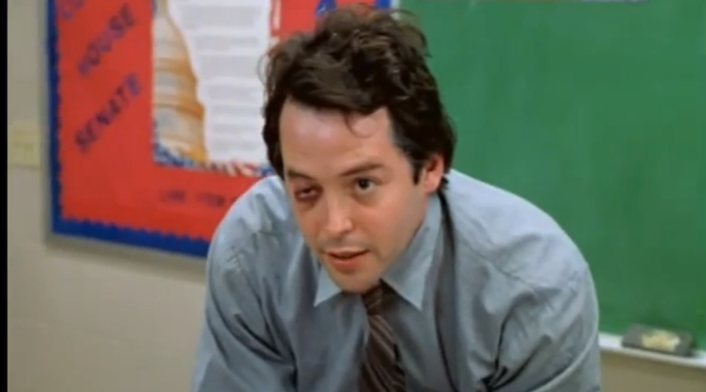 "Matthew Broderick in ""Election"""