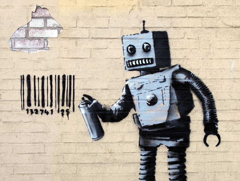 banksy-tagged-coney-island-with-a-robot-in-todays-artwork