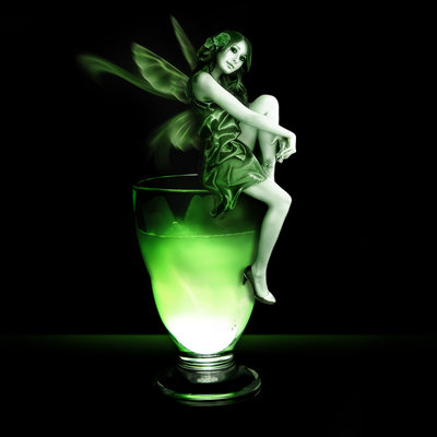absinthe fairy-glass