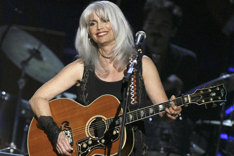 Musician Emmylou Harris performs during a concert celebrating musician Pete Seeger's 90th birthday in New York