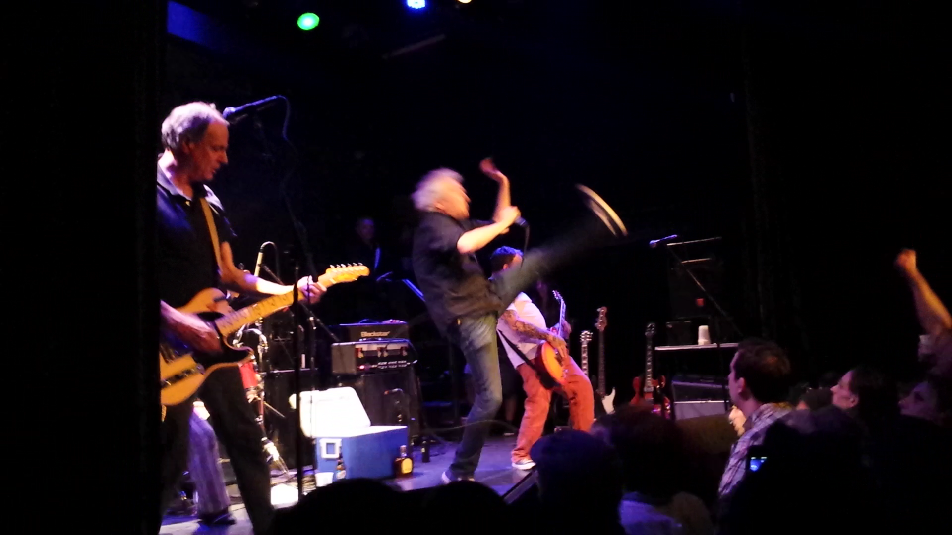 "Guided By Voices play ""Alex and the Omegas""  at The Bowery Ballroom"
