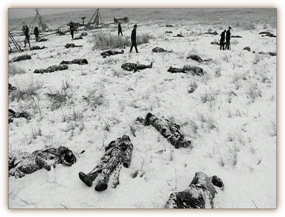 Wounded Knee Massacre, 1890