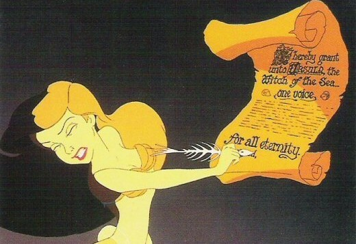 the-little-mermaid-ariel-signing-contract-520x357