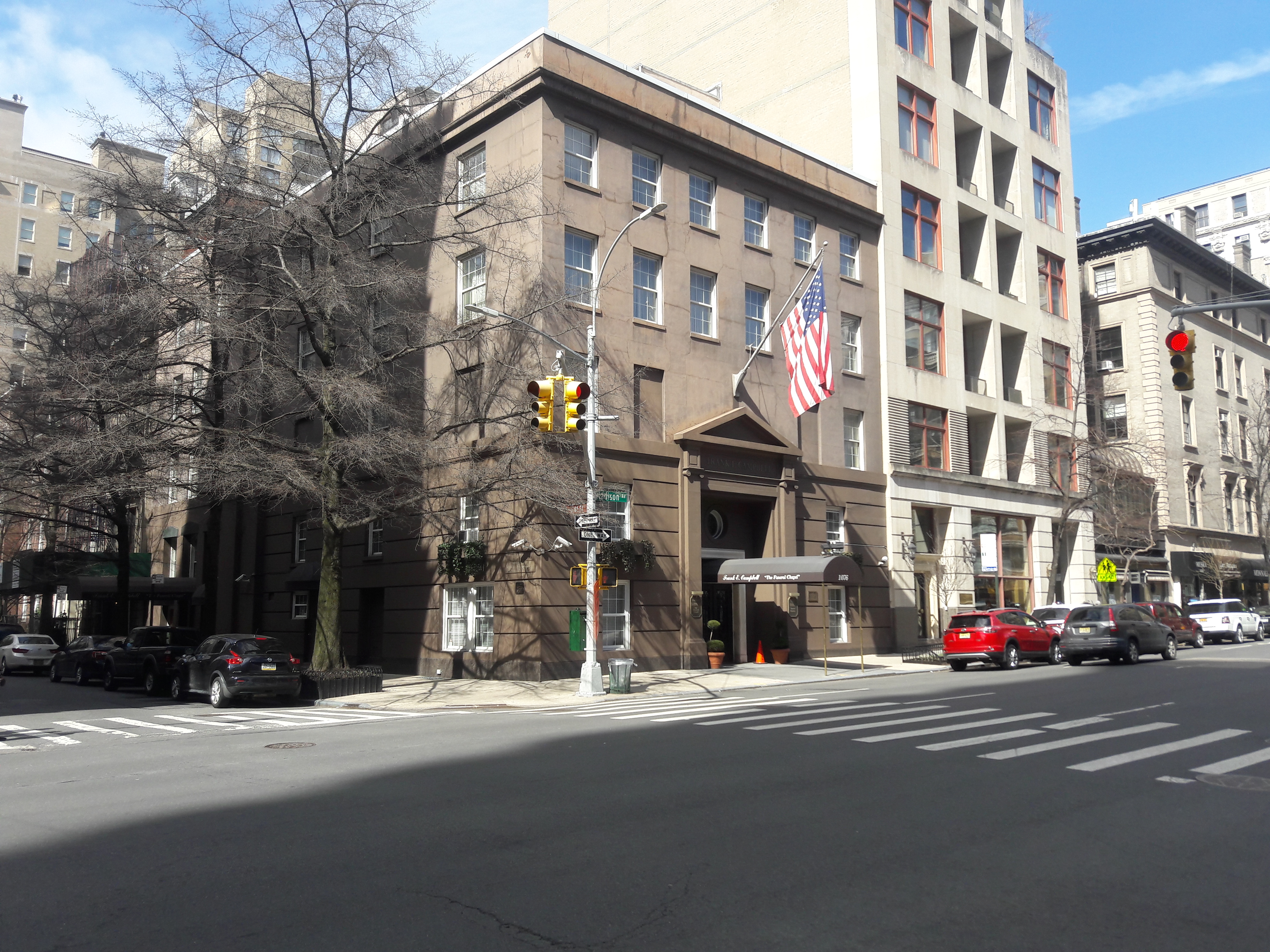 Overlooked NYC: Frank Campbell Funeral Chapel | my bad side