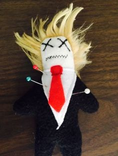 Corinne Reveals Business: Trump Voodoo Dolls