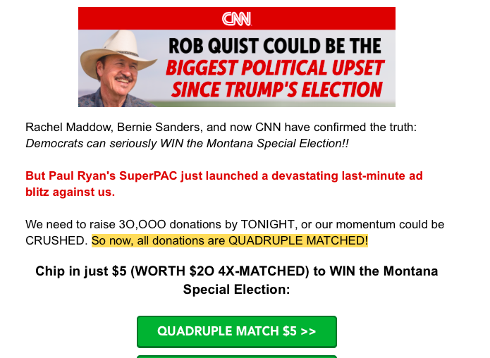 The Problem with Political Donations